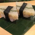 寿司源 藤沢大庭店 - 子持ち昆布 これも食べ易い様にハーフカットして出して下さいました(o^^o)✨
