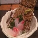 ダイニング モグ - 真鯛刺身