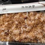 宮寺亀屋 - 赤飯も美味しかったです。