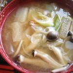 和楽cafe - 味噌汁