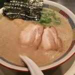ippuudoushiromarube-su - シロマルベース味玉トッピング