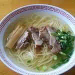 麺屋 晴レ - 中華そば 塩(小):400円