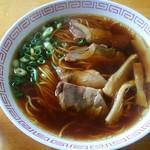 麺屋 晴レ - 中華そば 醤油(小):400円
