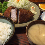 とんかつ一幸 - 料理写真:大関とんかつ定食 ¥1,922-