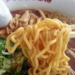 味特 - 麺アップ