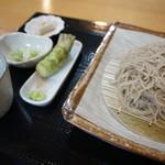 蕎麦正 まつい - ざるそば(1,000円)