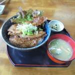 ちんばた - 豚丼@850
