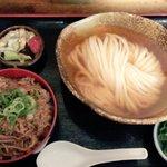 瀬戸内製麺710 - 特撰素材のひやかけ&牛飯