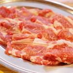 味の羊ヶ丘 - 羊肉、肩ロース側より