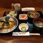 旬菜酒肴 みかん - カツ玉定食