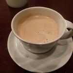 山下ワイン食道 - 食後にコーヒーをいただきました^^