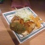 角や - 焼いた鶏肉