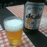 立ち呑み 美よ志 - アサヒスーパードライ(大瓶)