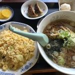 味道園 - 料理写真:チャーハンセット(醤油)
