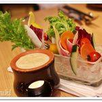 52465813 - 厳選季節野菜の農園バーニャカウダ