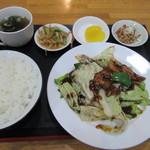 桃李 - 回鍋肉定食