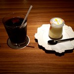 52466927 - 自家製にじいろプリン&オーガニックアイスコーヒー