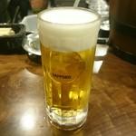 酒場さかい - 生ビール