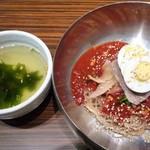 52468856 - スープ&ビビン冷麺