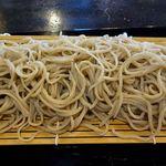 52469263 - いし塚(鴨汁そばの大盛蕎麦+200円のアップ ※蕎麦1.5倍)