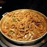 八島丹山 - 料理写真:名物ホルモンうどん♪