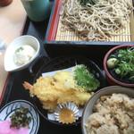 にほのうみ - 天ざる定食