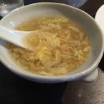 52470551 - 定食の卵スープ