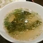 泰将 - スープ