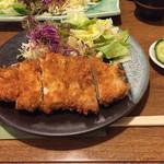 すえ広 - ロースカツ定食900円