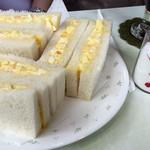 喫茶向陽 - エッグサンド