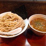 Itsuki - 海老つけ麺750円と100円で大盛り