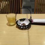 52477897 - 蕎麦茶と蕎麦花林糖