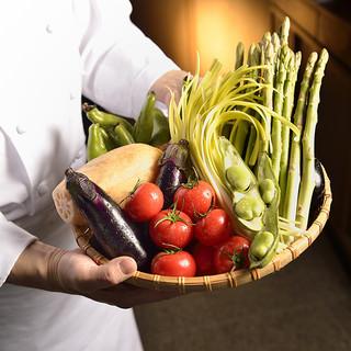 お肉だけでなくお野菜も美味しくお召し上がり頂きます