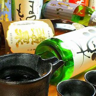 日本酒15種/焼酎20種以上