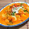 鶏肉のレッドカレーペースト炒め:パネーン・ガイ
