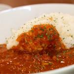 珈食房 る ぱん - チキンのトマトカリーランチ激辛
