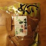 おせんの里 松屋 - 4ッ切味噌煎餅