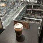 スターバックスコーヒー - 2016年6月 大阪駅構内が見える席♪
