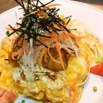 energy cafe Open Sesame - 料理写真:から揚げタルタルオムライス