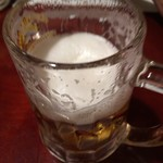 がっ炭ごっとん - 生ビール