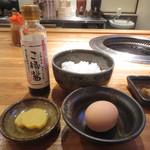 52486022 - 海士町産米 卵かけご飯 300円 (2016.6)