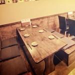 毘央志 - テーブル席