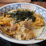 松本庵 - 「開化丼(豚肉)」