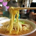 長崎亭 - 麺のかたさは「カタ」でいただきました