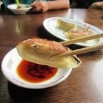 長崎亭 - 餃子大好き娘が喜んで食べていました