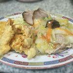 ちゅー - 中華定食 700yen(スープ、ライス付)
