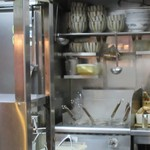 上野 戸みら伊本舗 - 麺茹では今風。小テボ式。
