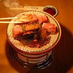 伊万里 - 料理写真:炭火七輪焼肉!