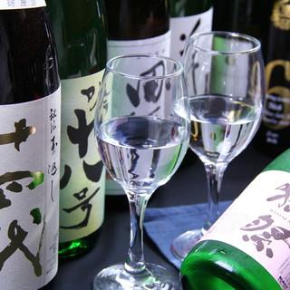 ダイニングバールで飲むワイン&日本酒