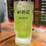肉稀組 - 2016.6 キウイサワー(390円)